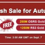 Group logo of RSorder 2020 Autumn Flash Sale: RS 2007 Gold Online to Get for Free on Sept 7