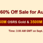 Group logo of RSorder Amazing Price 60% Off OSRS Gold Waiting for U to Acquire on Sept 18