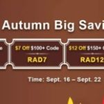 Group logo of Apply Coupon Codes to Snap up $18 Off RS 07 Gold from RSorder Autumn Big Savings